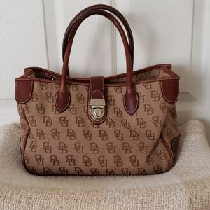 Dooney and Bourke small double handle tote
